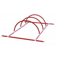 Structure 2m + 3 demi-cercles