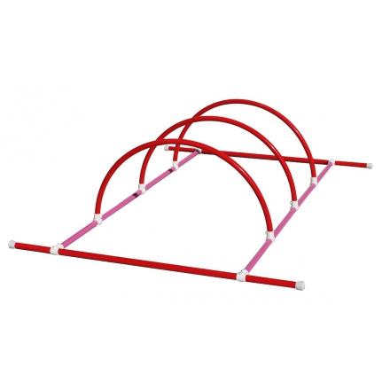 Structure 2m + 3 demi-cercles LMP