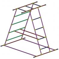 Cage pyramide