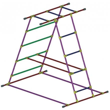 Cage pyramide LMP