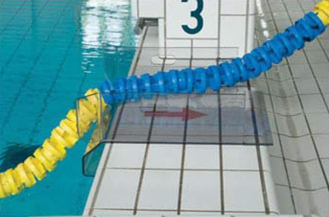 Lignes de nage flotteurs ailettes couronne serre c ble ressort crochet - Piscine ligne de nage ...