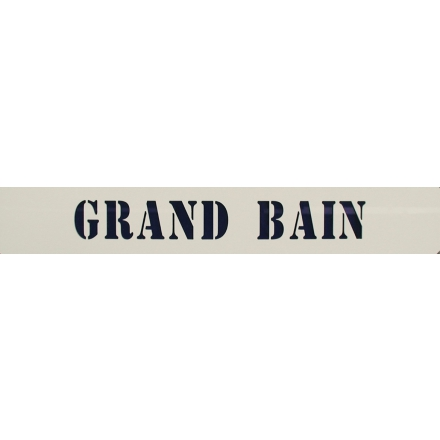 Signalétique grand bain LMP