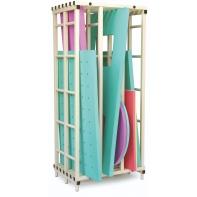 Rangement vertical pour tapis